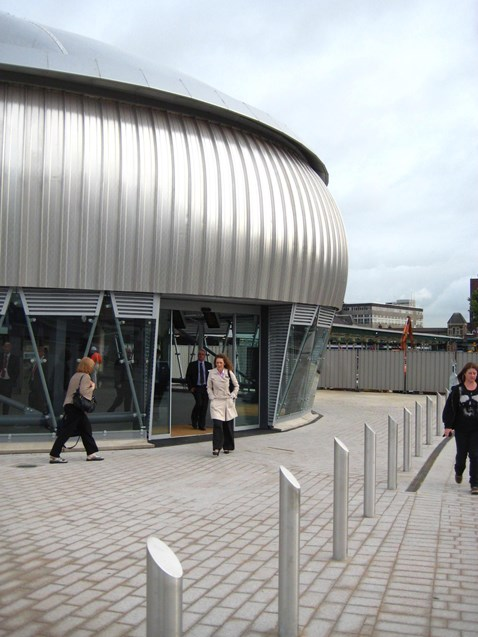 Concourses of Newport station open today
