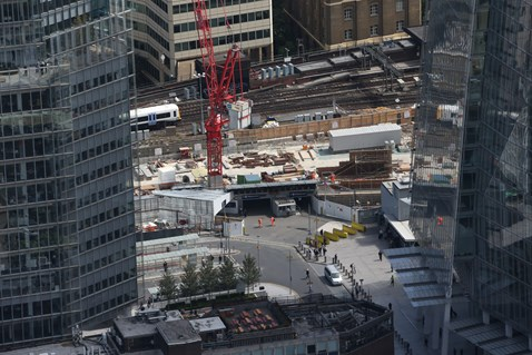 Thameslink Programme - Aerial view of London Bridge 8