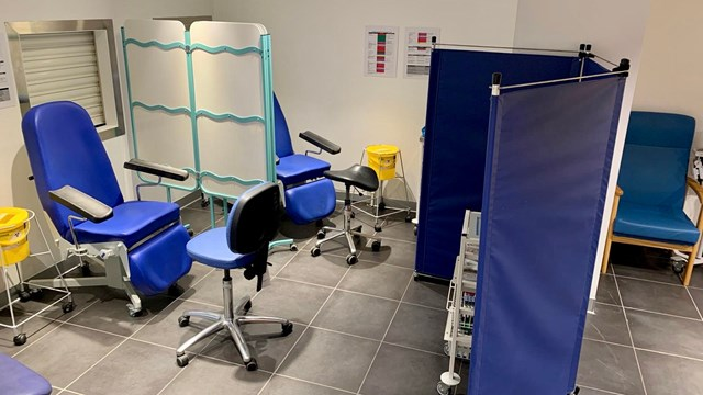 NHS outpatient clinic opens at Birmingham New Street to alleviate hospital pressure: Phlebotomy clinic Birmingham New Street