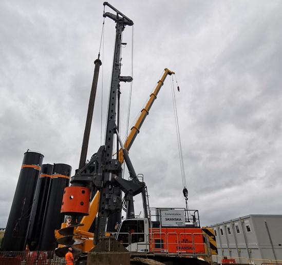 HVO piling rig-2