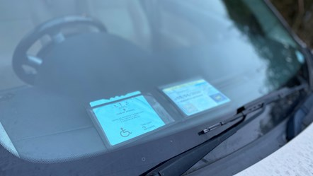 Blue Badge fraudster prosecuted: Blue Badge