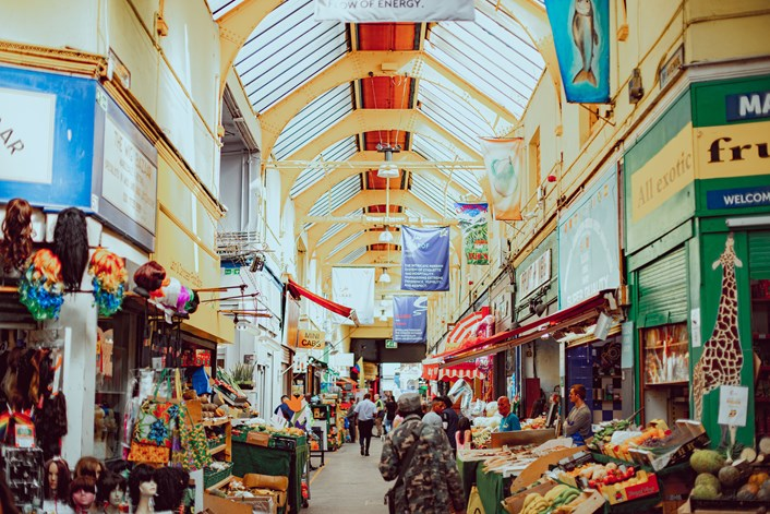 London enlists locals to help tell city's story: Brixton Market - Overview