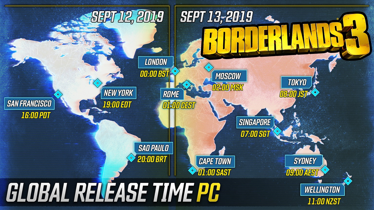 PC Release Times