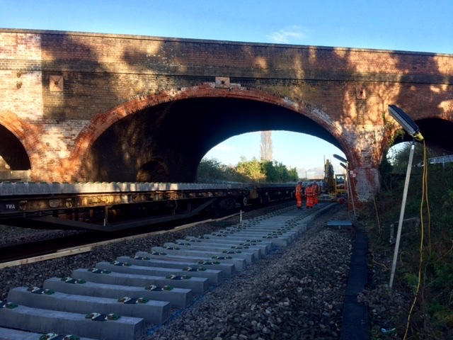 Bridge in Oxfordshire to remain in place following state-of-the-art testing: Steventon Bridge, Oxfordshire - Great Western Main Line