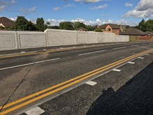 New £2m road bridge on Station Road Shotts