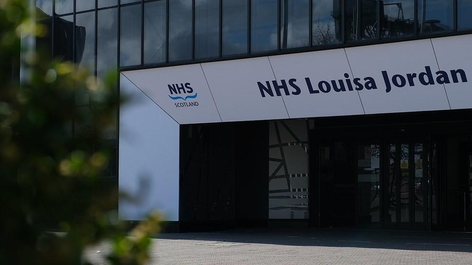 NHS Louisa Jordan Exterior