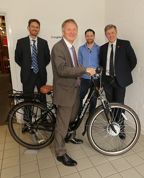 Jobs boost for Fife: Cyclotricity-smaller