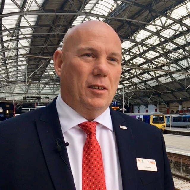 Phil James, North West route director