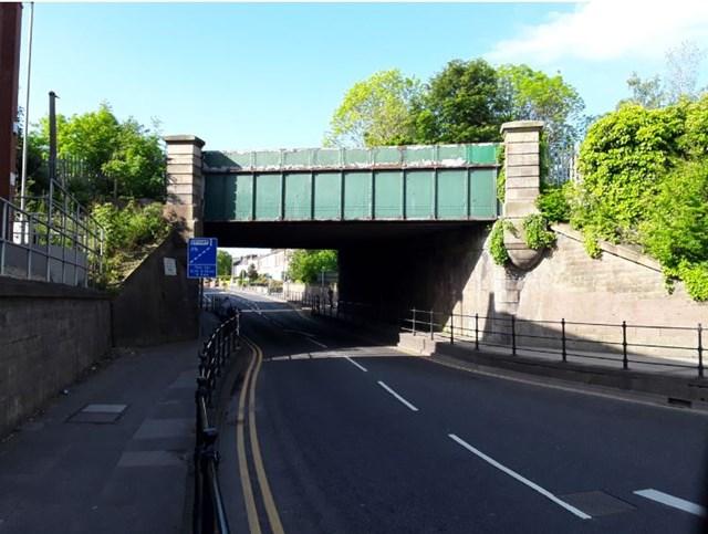 Three Darlington railway bridges to be restored: The Grade II bridge on North Road is to be repainted