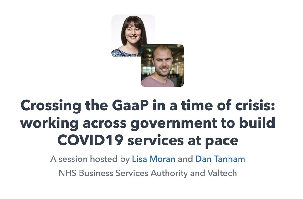 Digileaders Virtual Conference - Working with Government to build COVID -19 services at pace.: Digileaders