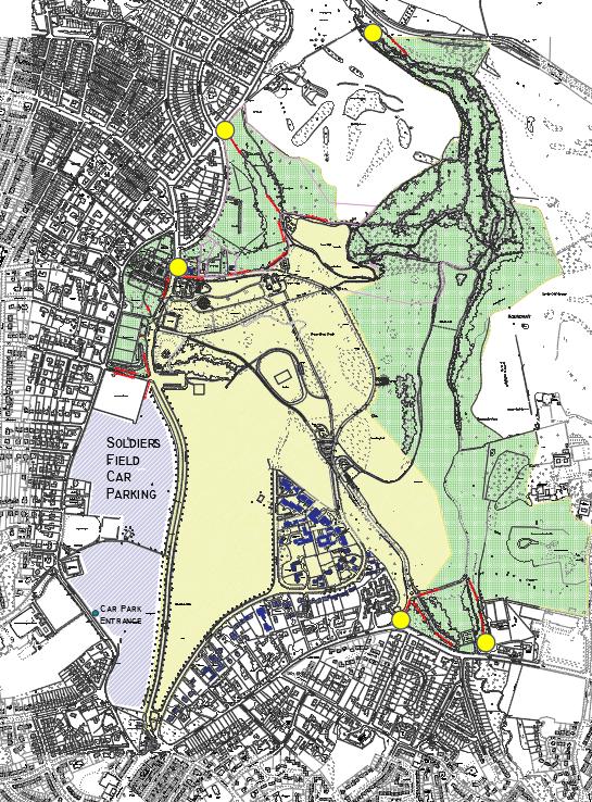 Roundhay Map
