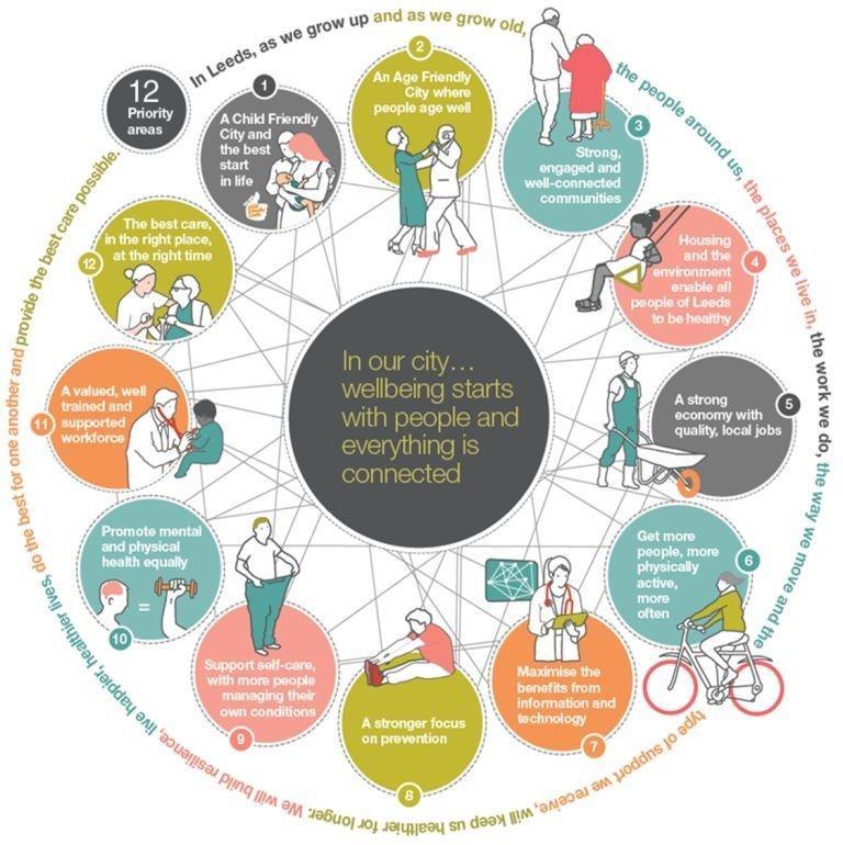 Health and care leaders welcome report findings: wheeldiagram.jpg