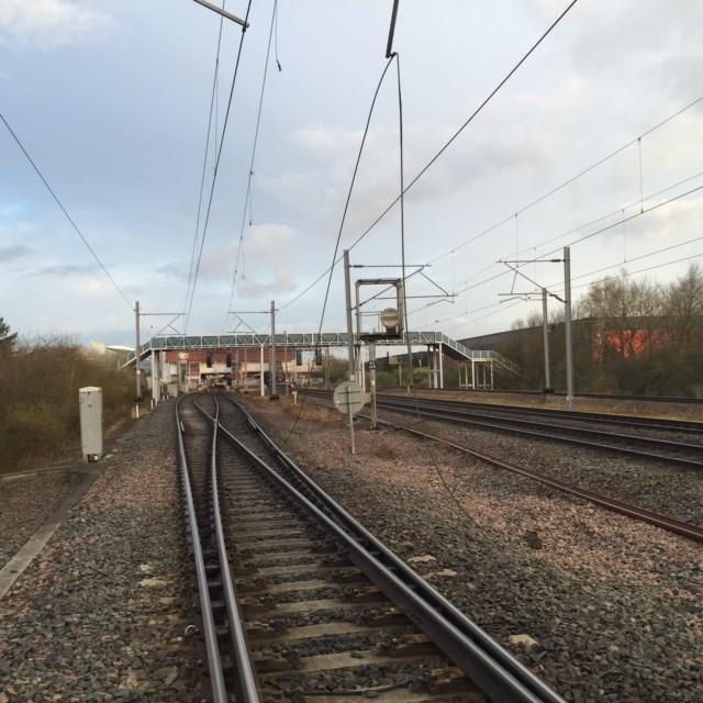 Overhead power line damage causing delays between Birmingham and Coventry: OLE damage near Birmingham International - 1