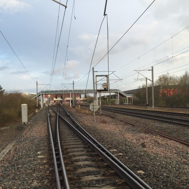 Overhead power line damage causing delays between Birmingham and Coventry: OLE damage near Birmingham International - 1