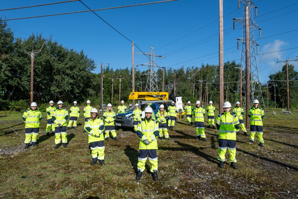 Electricity North West engineers-2