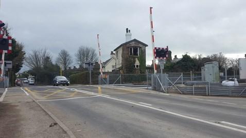Yapton level crossing upgrade