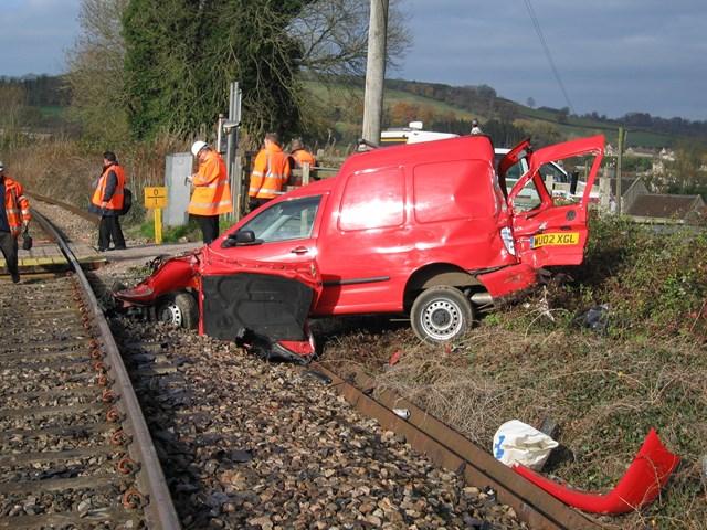 Collision near Bath: DRTR