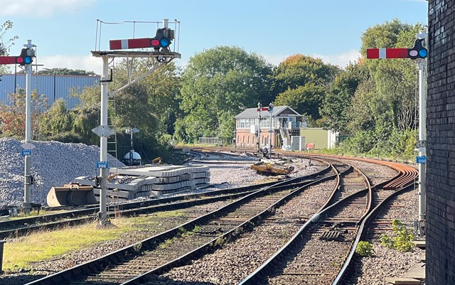 Major railway improvements in Bridlington – Network Rail upgrades signalling and track this month: Major railway improvements in Bridlington – Network Rail upgrades signalling and track this month