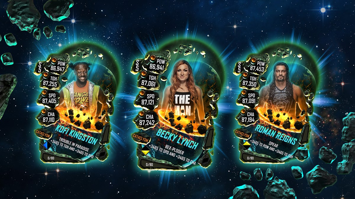 WWESC S5 Cataclysm Card Set