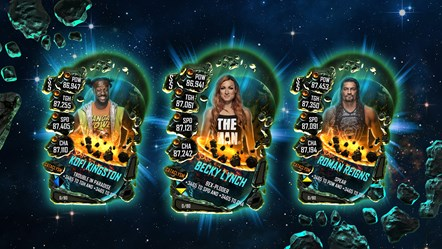 WWE® SuperCard: New Cataclysm Tier Available Now: WWESC S5 Cataclysm Card Set