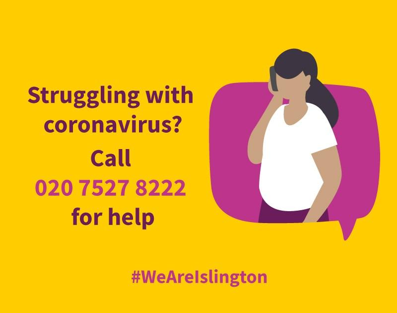 We are Islington helpline - Phone number