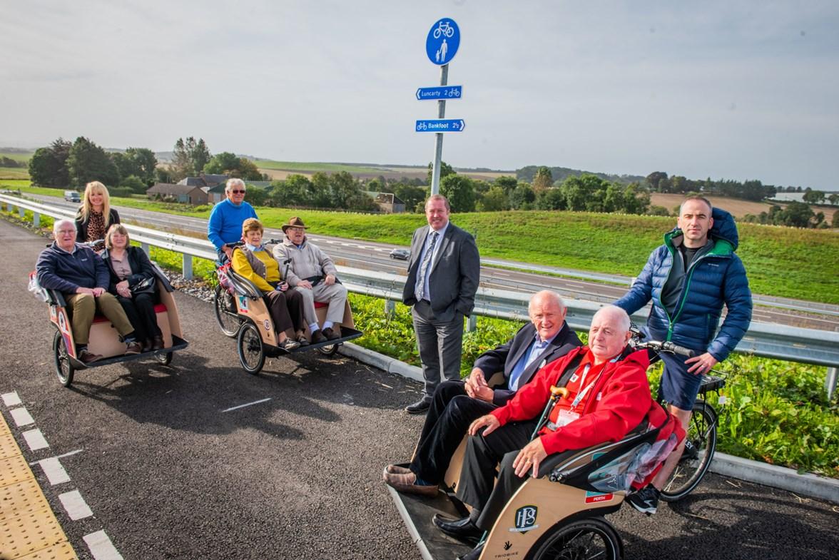 Transport Scotland - A9 Dualling - Stanley Development Trust - September 2021