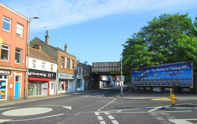 Rail passengers and shoppers reminded of upcoming closures at Aldershot: Aldershot High Street