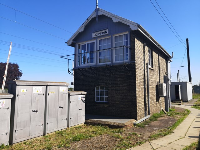 Behind the scenes peek at Helpston signal box helps community understand level crossing safety: Behind the scenes peek at Helpston Signal Box helps community understand level crossing safety 1