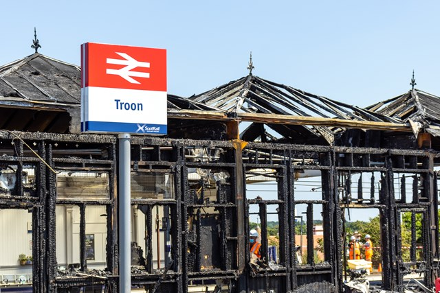 Rail lines through Troon set to reopen: Troon - July 21 1