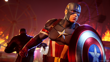 Marvel s Midnight Suns - Captain America - Blade to Back