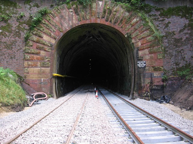NORTH COTSWOLD LINE PRIMED FOR EXTRA TRACK: Extra track in the tunnel and more to come next year