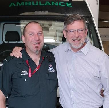 Hearts manager thanks SAS: Craig Levein