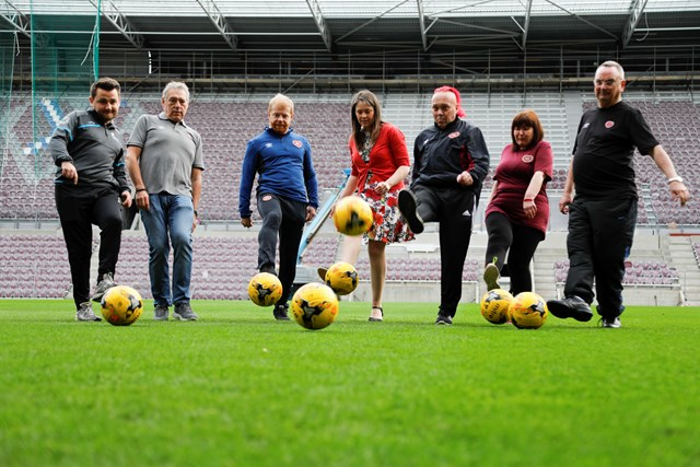 Time for bold action on obesity: Diet & Obesity consultation launch, Football Fans in Training
