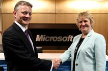 Microsoft sign Business Pledge
