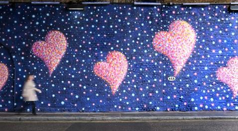 Jimmy C's artwork at Southwark