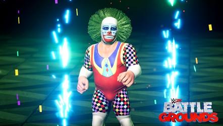 WWE2K BG Doink the Clown
