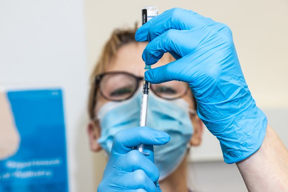 Thousands to be vaccinated at Kent and Medway's first large-scale vaccination centre: 28122020 VaccineJab013 (2)