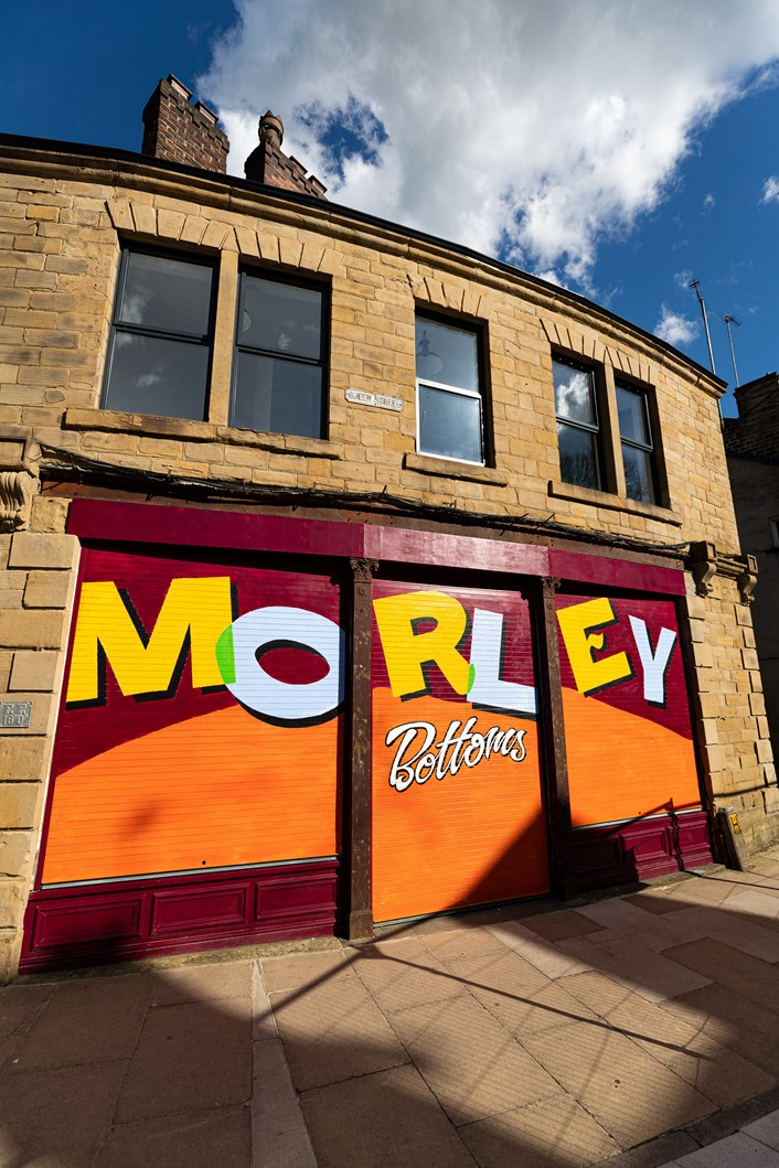 New look Morley Bottoms among projects kickstarting longer-term regeneration plans for the town: Morley LeedsCouncil HVCO-206