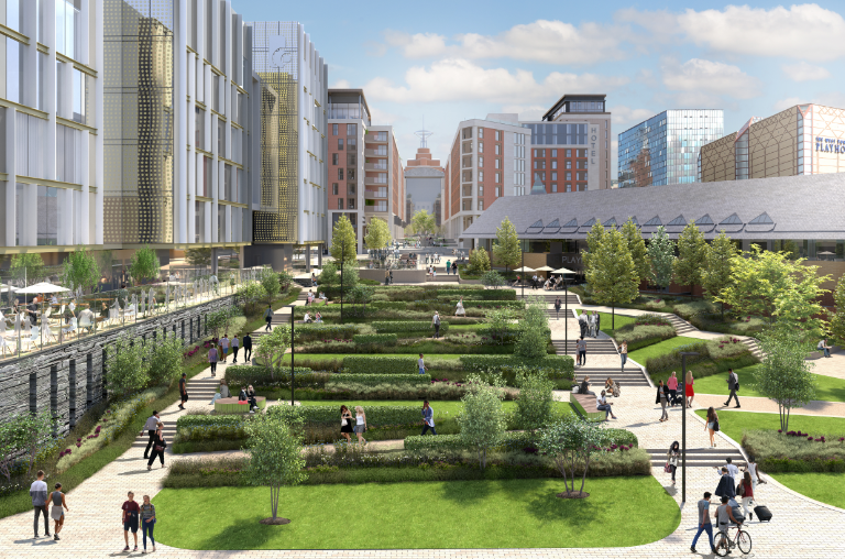 Green space to be revamped as part of vision for Leeds to be the best city: quarryhilldevelopment2.png