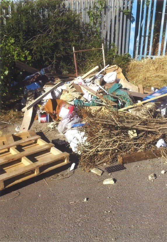 Local landscape business found guilty of fly tipping for the third time.: mitchellcaseimage.jpg