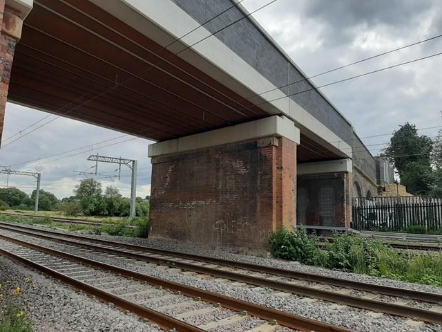 Road closure as Network Rail makes final improvements at Northamptonshire bridge: Station Road bridge, Isham