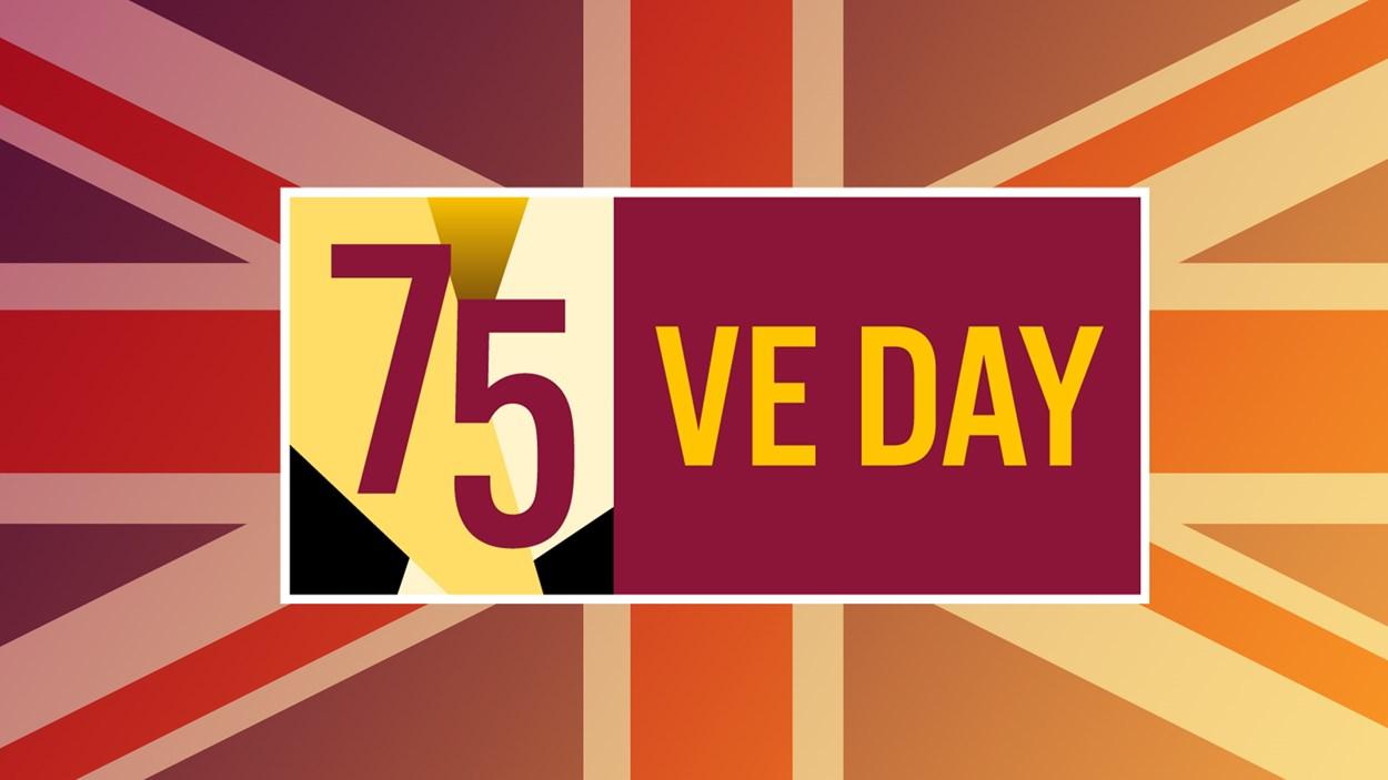 VEDay75 graphic