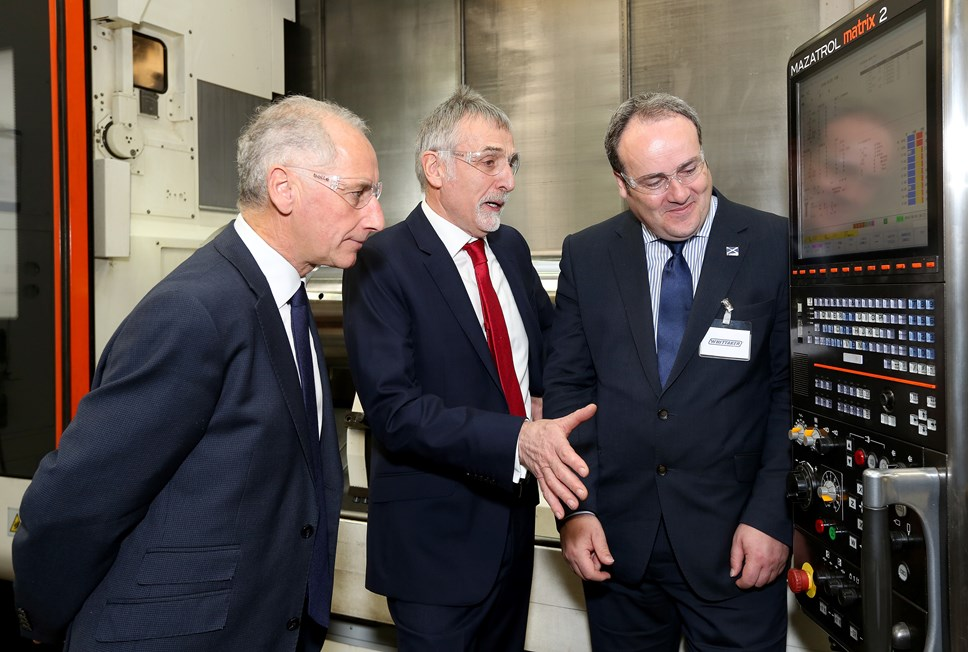 Increasing Scotland's energy export potential: Whittaker Minister Visit 006
