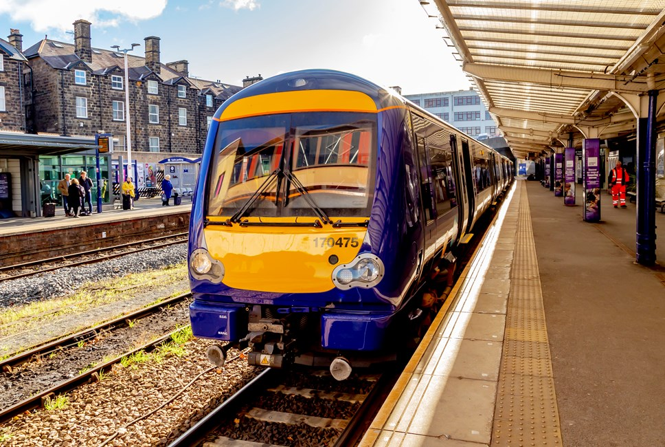Northern welcomes its 100th refurbished train: 170 Harrogate  4