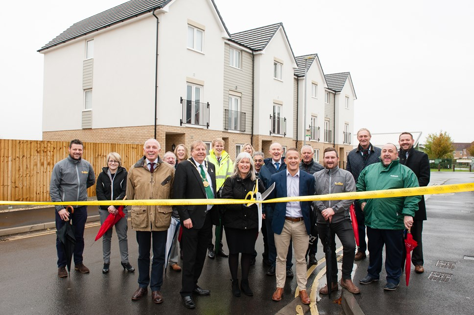 18 Affordable new homes are complete in time for Christmas at Nokoto Drive, Bridgwater.: nokoto drive bridgewater 41