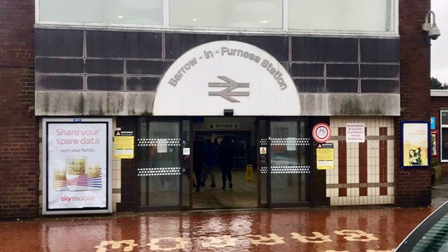 Barrow-in-Furness station subway to be made cleaner and brighter for passengers: Barrow-in-Furness station photo