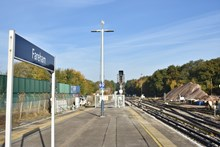Network Rail has completed nine days of upgrade works at Fareham in which nine sets of points were replaced [4]