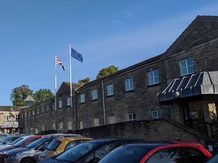 Council leader confirms future commitment to EU residents: CDC EU Flag