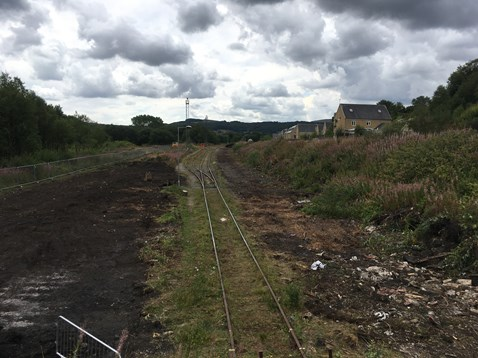 Network Rail is investing £18m to lengthen freight sidings in Buxton