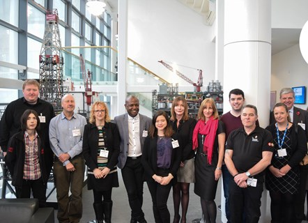 Optimisation in Production Process Course - first cohort: First cohort of individuals attending a new 12 week training course delivered by Robert Gordon University and supported by Scottish Enterprise in conjunction with the Energy Jobs Taskforce.
